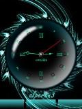 new transparent clock